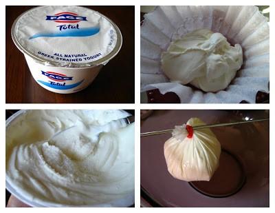 Labneh yogurt